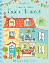 Livro - Casa de bonecas : Primeiros adesivos -