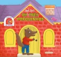 Livro - Casinha de contos- Os Três Porquinhos -