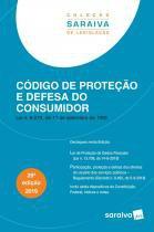 Livro - Código de proteção e defesa do consumidor - 29ª edição de 2019 -