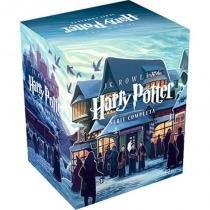 Livro - Coleção Harry Potter - 7 volumes -