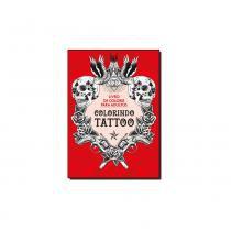 Livro - Colorindo tatoo - Ediouro (casa dos livros)