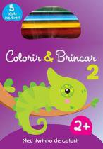 Livro - Colorir & brincar 2 : roxo -