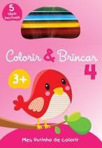 Livro - Colorir & brincar 4 : Rosa -