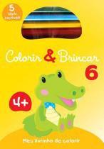 Livro - Colorir & brincar 6 : Amarelo -