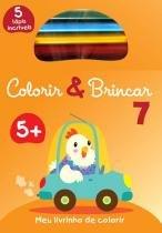 Livro - Colorir & brincar 7 : Laranja -