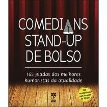 Livro - Comedians stand-up de bolso -