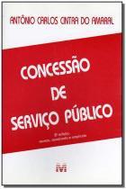 Livro - Concessão de Serviços Públicos - Malheiros