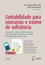 Livro - Contabilidade Para Concursos e Exame de Suficiência - Atlas - grupo gen