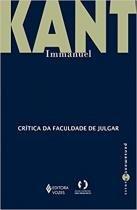 Livro - Crítica da faculdade de julgar -