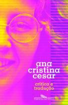 Livro - Crítica e tradução -