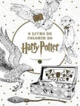 Livro De Colorir Do Harry Potter, O - Universo Dos Livros - 1