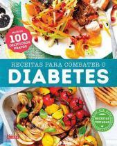 Livro de Receitas Para Combater o Diabetes Editora Alaúde -