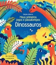 Livro - Dinossauros : Meus primeiros jogos e passatempos -