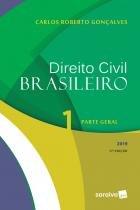 Livro - Direito civil brasileiro 1 : Parte geral - 17ª edição de 2019 -