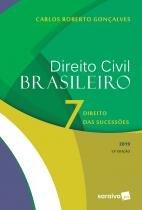 Livro - Direito civil brasileiro 7 : Direito das sucessões - 13ª edição de 2019 -