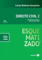 Livro - Direito Civil esquematizado® : Contratos em espécie : Direito das coisas - 7ª edição de 2019 -