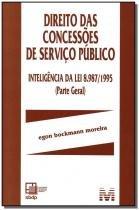 Livro - Direito Das Concessões De Serviço Público - Malheiros
