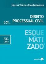 Livro - Direito processual civil esquematizado® - 10ª edição de 2019 -