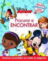 Livro - Disney - procurar e encontrar - Disney Júnior -