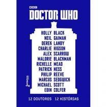 Livro - Doctor Who: 12 Doutores, 12 histórias -