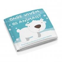 Livro Educativo de Banho Animais BB174 - Multikids - Multilaser