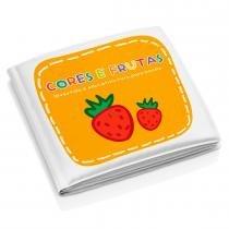 Livro Educativo de Banho Frutas e Cores BB205 - Multikids - Multikids