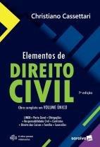 Livro - Elementos de direito civil - 7ª edição de 2018 -