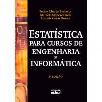 Livro - Estatística para Cursos de Engenharia e Informática - Barbetta - Atlas