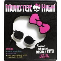 Livro Fique na Moda com a Skullete Monster High Mattel DCL