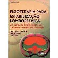 Livro - Fisioterapia para Estabilização Lombopélvica - Donatelli  - Phorte