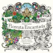 Livro - Floresta encantada -