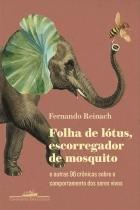 Livro - Folha de lótus, escorregador de mosquito -