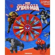 Livro Giz para Colorir: Ultimate Homem-Aranha Editora Melhoramentos Editora Melhoramentos