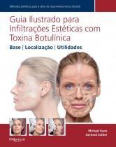 Livro - Guia Ilustrado para Infiltrações Estéticas com Toxina Botulínica - Base, Localização, Utilidades - Kane - Dilivros