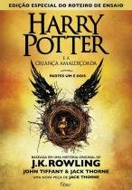 Livro - Harry Potter e a criança amaldiçoada - Parte um e dois -