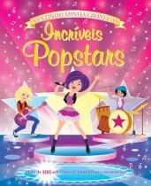 Livro - Incríveis Popstars : Vestindo minhas bonecas -