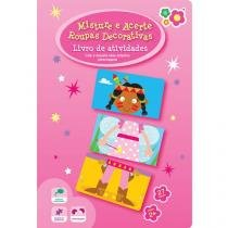 Livro Infantil Bebê Leitor - Misture e Acerte Roupas Decorativas Dican