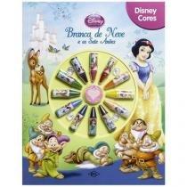 Livro Infantil Branca de Neve e Os Sete Anões - Disney Cores DCL