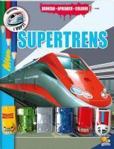 Livro Infantil - Brincar - Aprender e Colorir - Super Trens - Todo Livro - Todo livro editora