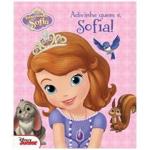 Livro Infantil Disney Junior - Adivinhe Quem é, Sofia! DCL