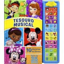 Livro Infantil Disney Junior Tesouro Musical - DCL