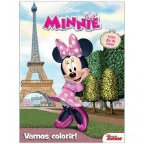 Livro Infantil Disney Junior - Vamos Colorir! Minnie DCL