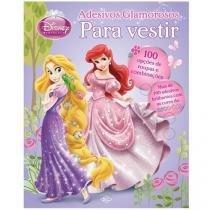 Livro Infantil Disney Para Vestir Princesas - Adesivos Glamorosos DCL