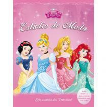 Livro Infantil Disney Princesa Estúdio de Moda - DCL