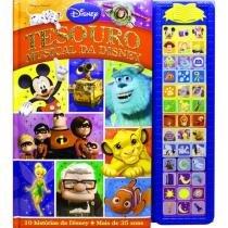 Livro Infantil Disney Tesouro Musical Da Disney - DCL