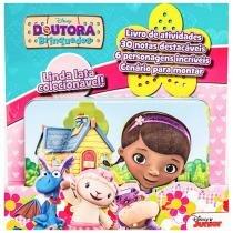 Livro Infantil Doutora Brinquedos Disney Junior - com Lata Colecionável DCL