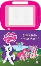 Livro Infantil e Lousa Mágica - My Little Pony - Desenhando com as Pôneis - Ciranda Cultural -