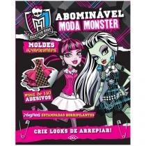 Livro Infantil Monster High - Abominável Moda Monster DCL
