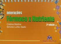Livro - Interações Fármacos X Nutrientes - Martins - Metha