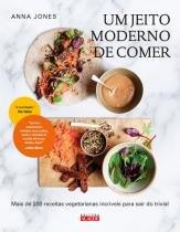Livro - JEITO MODERNO DE COMER, UM -